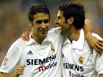 Raul and Figo