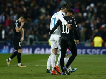 Neymar wants to play with Cristiano Ronaldo in the future
