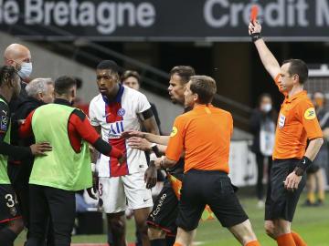 Ça a chauffé entre Kimpembe et les joueurs du Stade Rennais.