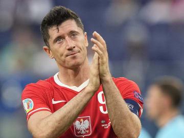 Lewandowski tras su eliminación en la Eurocopa