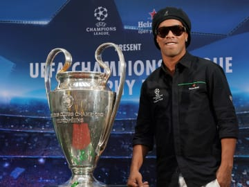 El jugador Ronaldinho.