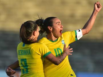 Brasil goleou a Argentina por 4 a 1