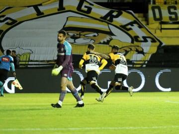 Criciúma fez grande jogo contra o Fluminense