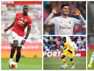 Paul Pogba, Luka Jovic, Ousmane Dembélé et Bouba Kamara tous à l'affiche des rumeurs mercato de la journée.