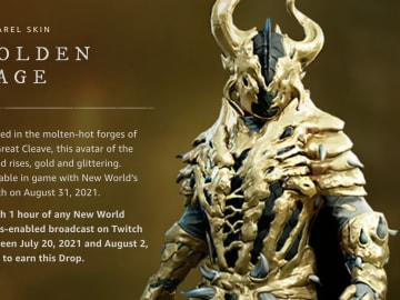 Here's how to get the Golden Rage Armor in New World.
