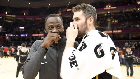 Draymond Green, Kevin Love