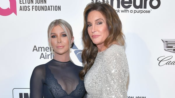 WEST HOLLYWOOD, CA - FEBRUARY 24:  Sophia Hutchins and Caitlyn Jenner attend the 27th annual Elton John AIDS Foundation Academy Awards Viewing Party celebrating EJAF and the 91st Academy Awards on February 24, 2019 in West Hollywood, California.  (Photo by Amy Sussman/Getty Images)