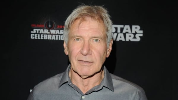 ORLANDO, FL - APRIL 13:  Harrison Ford attends the 40 Years of Star Wars panel during the 2017 Star Wars Celebrationat Orange County Convention Center on April 13, 2017 in Orlando, Florida.  (Photo by Gerardo Mora/Getty Images for Disney)