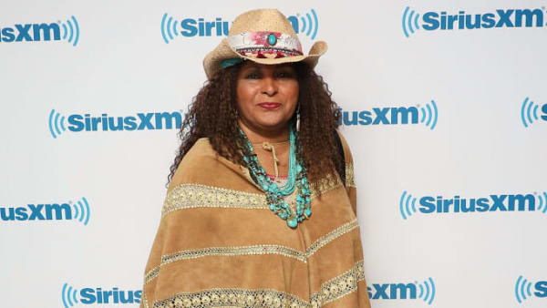 NEW YORK, NY - MAY 21:  Pam Grier visits the SiriusXM Studios on May 21, 2019 in New York City.  (Photo by Taylor Hill/Getty Images)