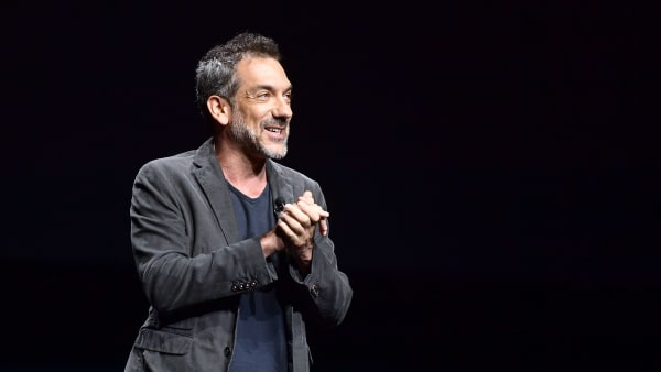"""LAS VEGAS, NV - APRIL 02:  Todd Phillips speaks onstage at CinemaCon 2019 Warner Bros. Pictures Invites You to """"The Big Picture"""", an Exclusive Presentation of its Upcoming Slate at The Colosseum at Caesars Palace during CinemaCon, the official convention of the National Association of Theatre Owners, on April 2, 2019 in Las Vegas, Nevada.  (Photo by Matt Winkelmeyer/Getty Images for CinemaCon)"""