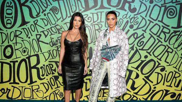 Kourtney Kardashian, Kim Kardashian West