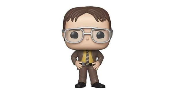 Dwight Schrute Funko Pop available on Amazon
