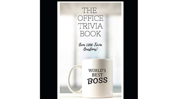 'The Office' trivia book available on Amazon