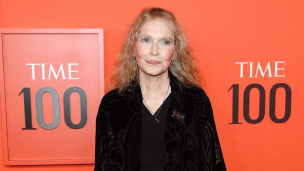 NEW YORK, NEW YORK - APRIL 23: Mia Farrow attends the TIME 100 Gala Red Carpet at Jazz at Lincoln Center on April 23, 2019 in New York City. (Photo by Dimitrios Kambouris/Getty Images for TIME)