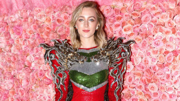 NEW YORK, NEW YORK - MAY 06: Saoirse Ronan attends The 2019 Met Gala Celebrating Camp: Notes on Fashion at Metropolitan Museum of Art on May 06, 2019 in New York City. (Photo by Kevin Tachman/MG19/Getty Images for The Met Museum/Vogue)