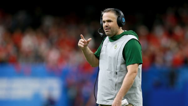 New Panthers head coach and financially-secure man Matt Rhule