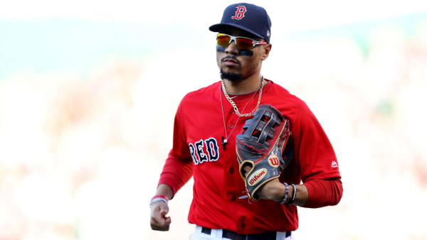 Boston Red Sox star Mookie Betts