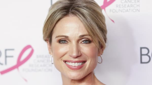 NEW YORK, NEW YORK - MAY 15: TV personality Amy Robach attends the Breast Cancer Research Foundation's 2019 Hot Pink Party at Park Avenue Armory on May 15, 2019 in New York City. (Photo by Bennett Raglin/Getty Images for Breast Cancer Research Foundation)