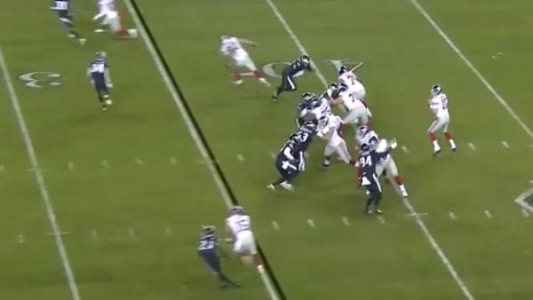 Eli Manning consiguió touchdown de 35 yardas en su regreso a los Giants