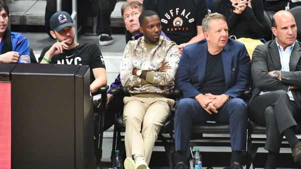 LOS ANGELES, CALIFORNIA - OCTOBER 22: Rich Paul attends a basketball game between the Los Angeles Clippers and the Los Angeles Lakers at Staples Center on October 22, 2019 in Los Angeles, California. (Photo by Allen Berezovsky/Getty Images)