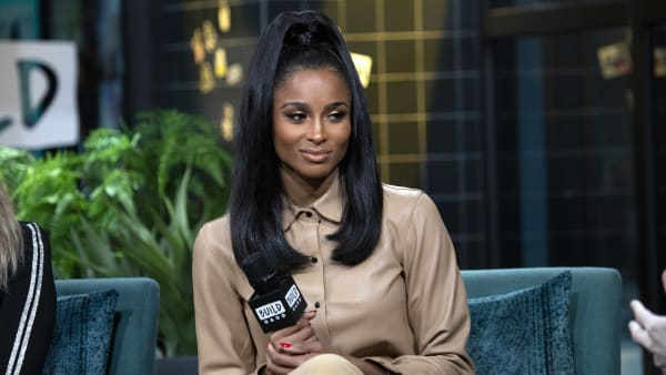 NEW YORK, NEW YORK - OCTOBER 30: Ciara visits Build Studio on October 30, 2019 in New York City. (Photo by Santiago Felipe/Getty Images)