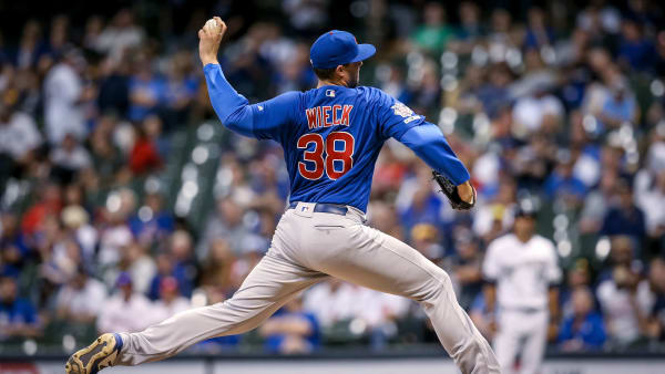 Cubs' Brad Wieck Shut Down After Being Diagnosed With Abnormal Heartbeat