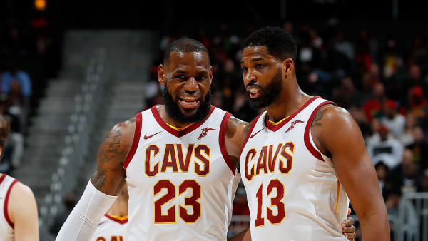 LeBron James, Tristan Thompson