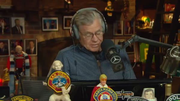 Dan Patrick discusses the Houston Astros on his radio show