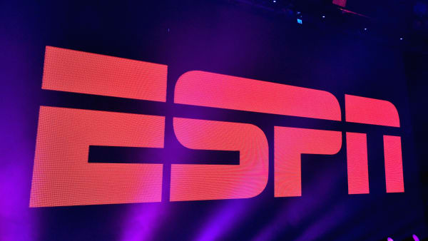 SAN FRANCISCO, CA - FEBRUARY 05:  A view of the logo during ESPN The Party on February 5, 2016 in San Francisco, California.  (Photo by Mike Windle/Getty Images for ESPN)