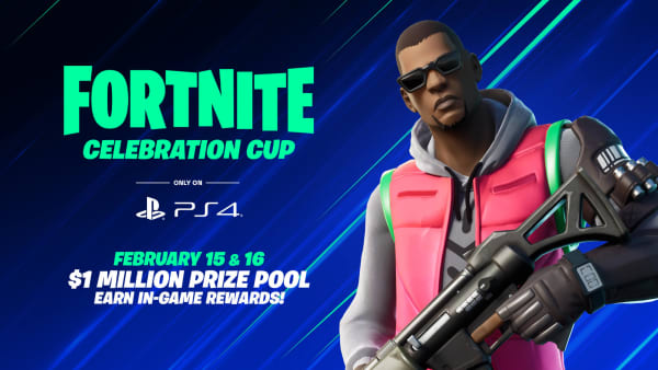 Fortnite Celebration Cup is coming exclusively to PlayStation 4