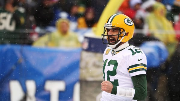 Hyped Aaron Rodgers wants Packers fans to bring similar energy to Redskins matchup