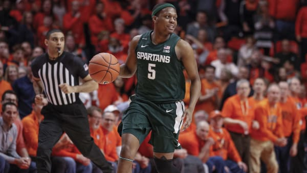 Iowa vs Michigan State odds have the Spartans as home favorites over the Hawkeyes on Tuesday night.