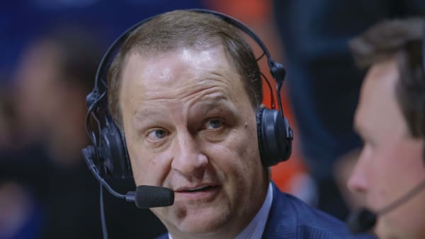 CHAMPAIGN, IL - FEBRUARY 05: ESPN broadcaster Dan Dakich is seen during the Illinois Fighting Illini and Michigan State Spartans game at State Farm Center on February 5, 2019 in Champaign, Illinois. (Photo by Michael Hickey/Getty Images)