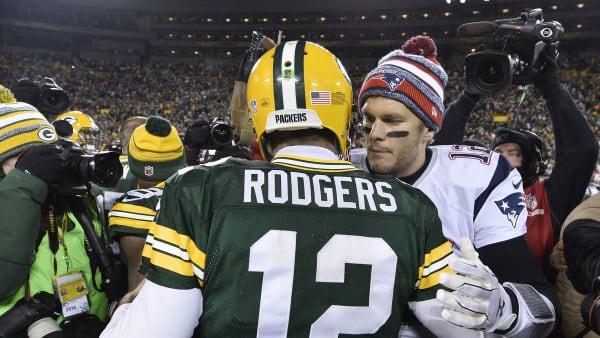 Tom Brady, Aaron Rodgers