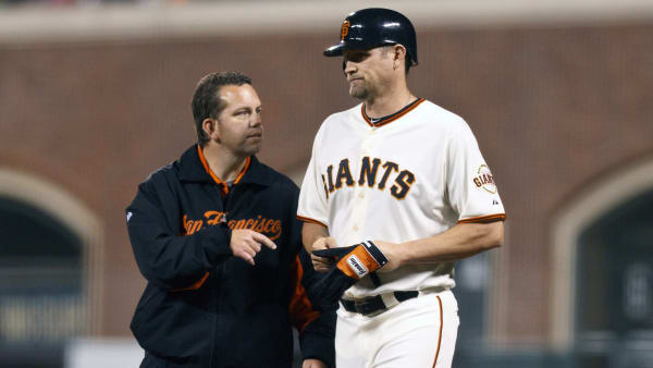 People Complaining About Giants Banning Aubrey Huff for 'Freedom of Speech' Have No Clue What They're Talking About