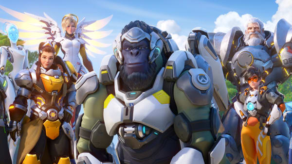 Overwatch team line-up