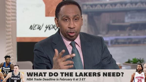 Stephen A. Smith is firing up the trade machine
