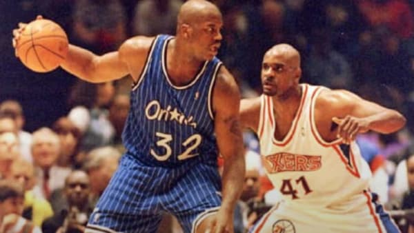 Shaq's strength was a mismatch for NCAA players and NBA players alike.