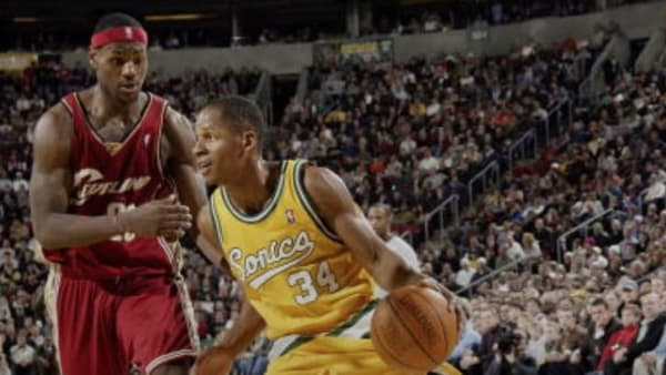 LeBron James' first game was the most anticipated first game in NBA history.
