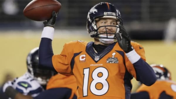 Peyton Manning was stymied at MetLife by Seattle