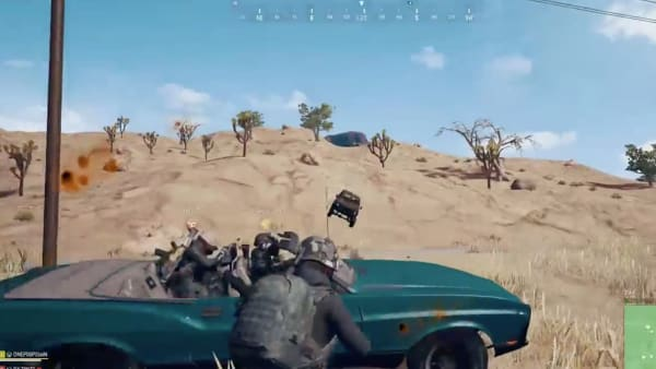 A PUBG player decided it was better to try to avenge his team than escape with his life.