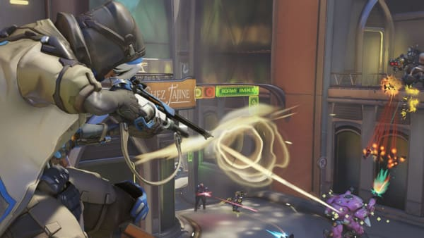 Ana and Symmetra received a console only change in the latest Overwatch patch.