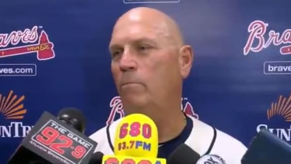 Brian Snitker weighs in on benching Ronald Acuna Jr on Sunday.