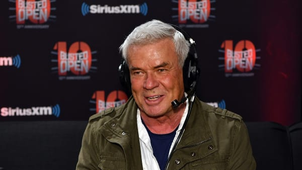 """NEW YORK, NY - APRIL 06:  Eric Bischoff attends SiriusXM's """"Busted Open"""" celebrating 10th Anniversary In New York City on the eve of WrestleMania 35 on April 6, 2019 in New York City.  (Photo by Slaven Vlasic/Getty Images for SiriusXM)"""
