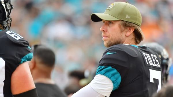 Nick Foles trade destinations could include the Chargers if the Jaguars start Gardner Minshew.