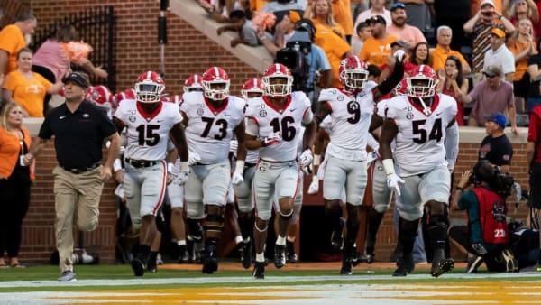 Georgia players, Kirby Smart