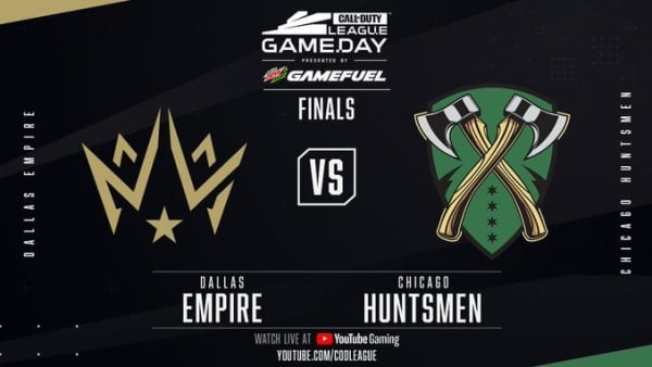 CDL London Finals featured Dallas Empire taking on the Chicago Huntsmen