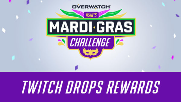 To celebrate Mardi Gras, Overwatch drops have been enabled and here's how to earn the newest drops.