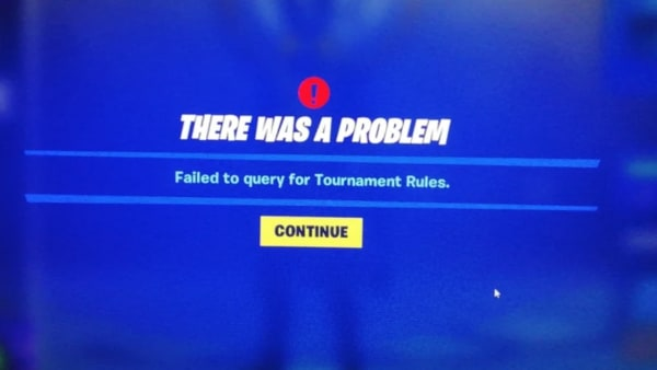 Failed to Query for Tournament Rules is an error message players are receiving when they tried to log in for the Fortnite Hype Night