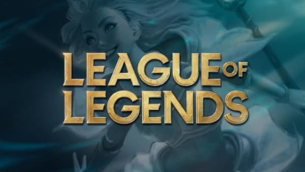 The new League of Legends logo, revealed as part of the 10th anniversary celebration